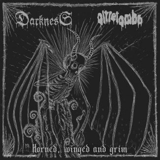 DARKNESS/OLTRETOMBA: Horned, winged and grim
