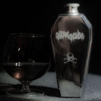 Oltretomba Coffin whisky flask