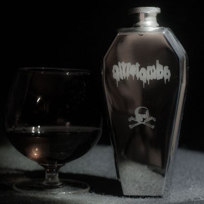 Oltretomba Coffin whisky flask